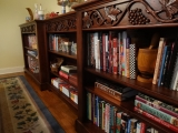 Grape leaf bookshelf