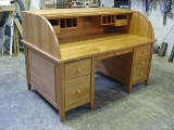 Contemporary rolltop desk -open