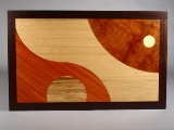 Marquetry cocktail table (detail)
