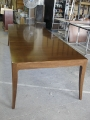 Walnut expanding dining table